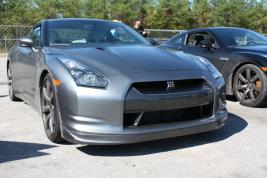 GT-R's at drag strip