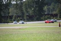 Four GT-R's on track