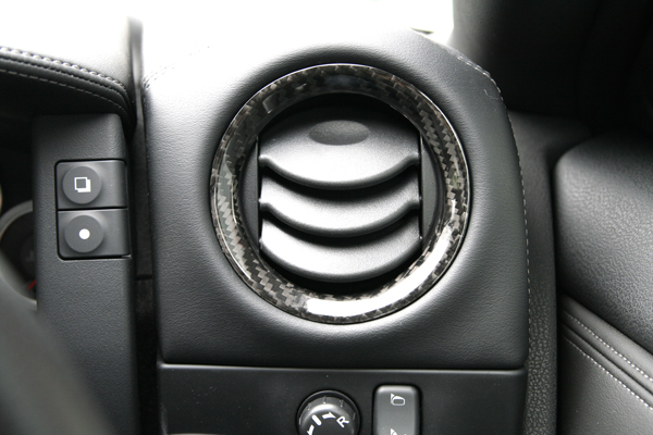 Gloss Carbon Dry Japan Air Outlet Ring Covers Special