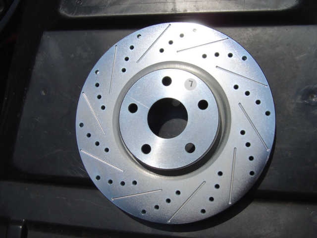 Cross Drilled and/or Slotted Rotors (SET of 4)