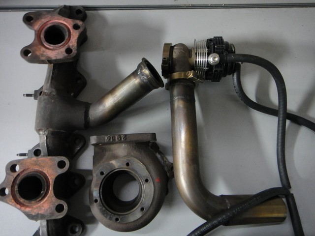 Used Modified Supra Manifold and Wastegate Setup
